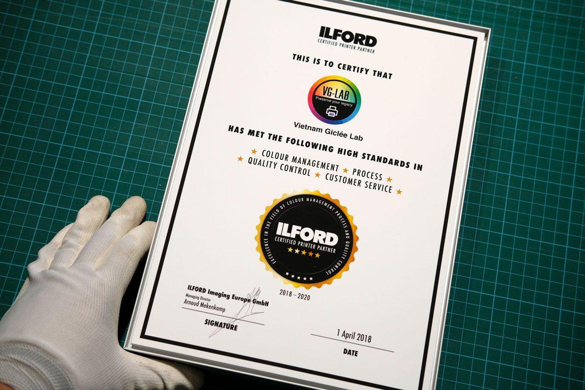 VG-Lab được công nhận là đối tác in tin cậy của ILFORD